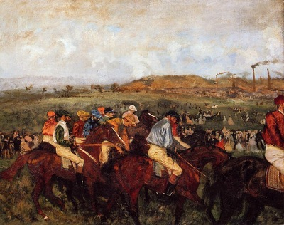 The Gentlemen s Race  Before the Start 1862 Musee d Orsay France