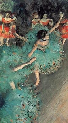 The Green Dancer circa 1880 Thyssen Bornemisza Museum Spain