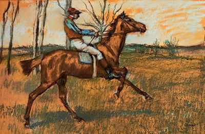 The Jockey circa 1887 Philadelphia Museum of Art USA