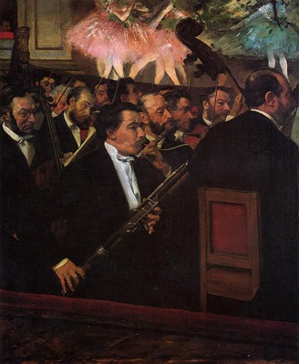 The Orchestra of the Opera 1870 Musee d Orsay France