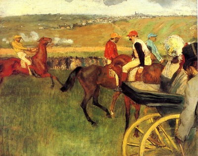 The Racecourse Amateur Jockeys 1876 1877 Musee d Orsay France