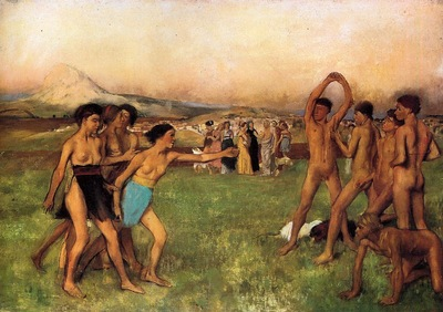 The Young Spartans 1860 National Gallery London England