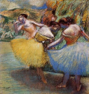 Three Dancers circa 1897 1901 Ordrupgaard Collection Denmark