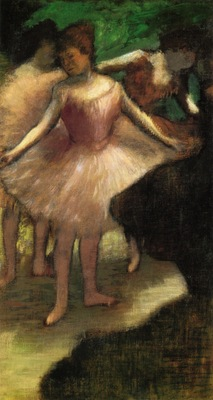 Three Dancers in Pink 1886 PC