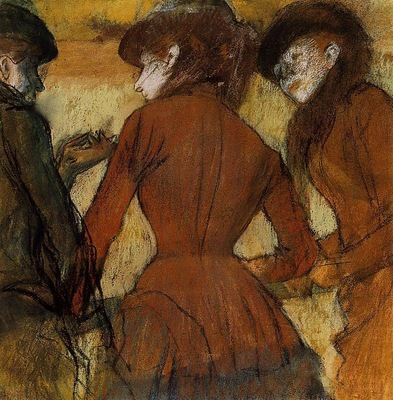 Three Women at the Races circa 1885 Denver Art Museum USA
