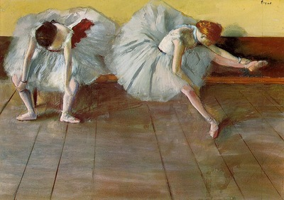 Two Ballet Dancers circa 1879 Shelburne Museum USA