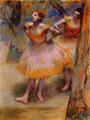 Two Dancers circa 1893 1898 The Art Institute of Chicago USA