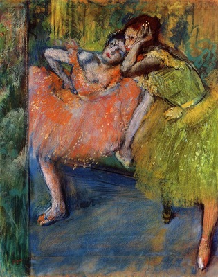 Two Dancers in the Studio 1901 PC