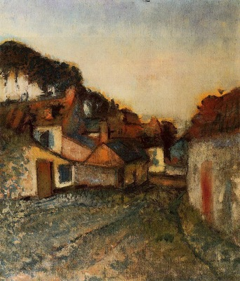Village Street 1896 1898 PC