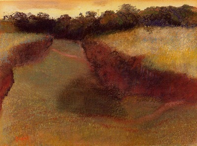 Wheatfield and Line of Trees 1890 1893 PC
