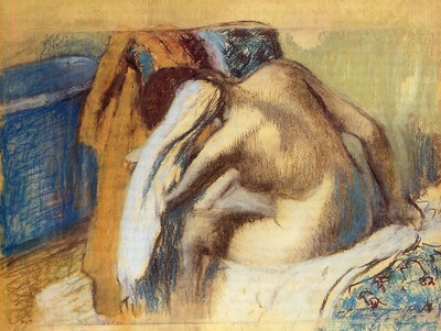 Woman Drying Her Hair circa 1893 1898 Brooklyn Museum of Art USA