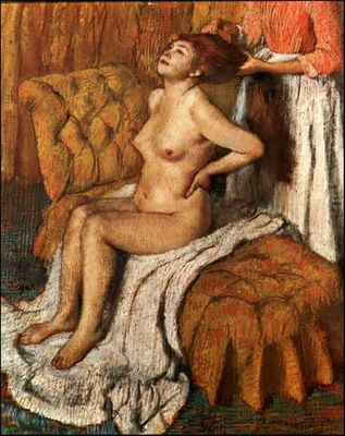 Woman Having Her Hair Combed circa 1886 1888 Metropolitan Museum of Art USA