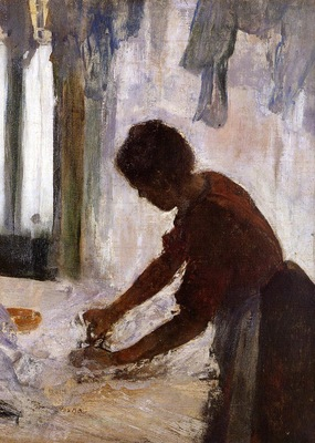 Woman Ironing also known as Silhouette 1873 Metropolitan Museum of Art USA