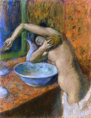 Woman at Her Toilette 1892 PC