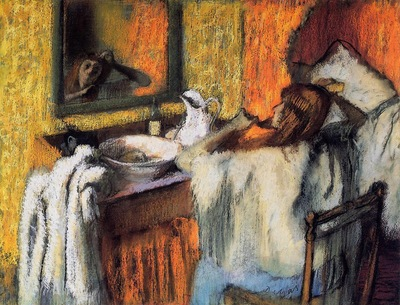 Woman at Her Toilette 1895 1900 Ordrupgaard Collection Denmark