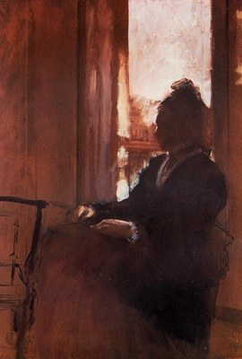 Woman at the Window circa 1871 Courtauld Institute Galleries England