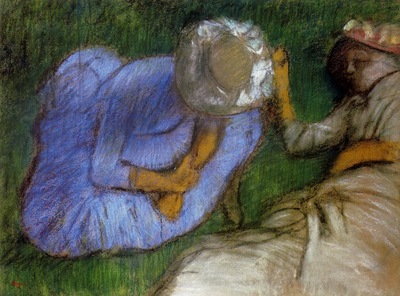 Young Women Resting in a Field 1882 PC