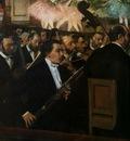 1870 Les Musiciens a l orcherstre par Degas illustration de la revolution musicake