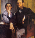 Edmond et Therese Morbill Huile sur Toile 1165x883 cm Boston Museum of Fine Art