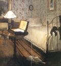 1869 Edgar Degas Le Viol Detail le mobilier
