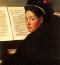 1872 Edgar Degas Mademoiselle Didau au Piano