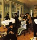 Un bureau de coton a la Nouvelle Orleans Huile sur Toile 7492 cm Pau Musee des Beaux Arts