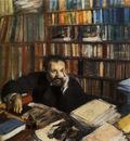 Edmond Duranty Gouache et pastel sur toile 100x100 cm Glasgow the Burrell Collection