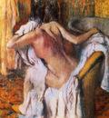 Apres le bain femme s asseyant Pastel 104x99 cm Lng