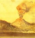 Le Vesuve Pastel 25x30 cm Berne Collection Kornfeld
