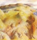 Paysage Pastel 42x55 cm Geneve Galerie Jan Krugier