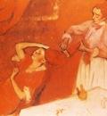 La Coiffure Huile sur Toile 124x150 cm Londres National Gallery
