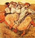 Les Trois danseuses russes Pastell 63x53 cm Stockholm Nationalmuseum