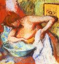 La Toilette Pastel 60x61 cm Ancienne Collection Florence Gould