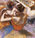 Danseuses Pastel 61x64 cm Toledo Museum of Art