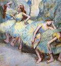 Danseuses dans les coulisses Pastel sur papier 711x66 cm SaintLouis Art Museum