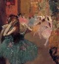 Ballet Scene circa 1893 Private collection oil on canvas