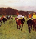 Before the Start circa 1875 1876 Private collection oil on canvas