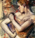 Dancer 1896 Private collection pastel