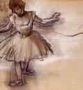 Dancer circa 1877 Private collection pastel