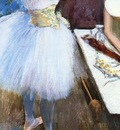 Dancer in Her Dressing Room circa 1879 Cincinnati pastel