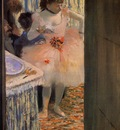 Dancer in Her Dressing Room circa 1880 Oskar Reinhart Collection Switzerland pencil