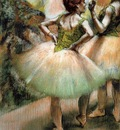 Dancers Pink and Green 1894 PC