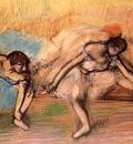 Dancers Resting circa 1896 PC