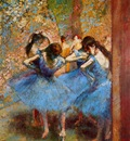 Dancers in Blue 1895 Musee d Orsay France oil on canvas
