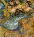 Group of Dancers circa 1900 1910 PC