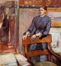 Helene Rouart in Her Father s Study circa 1886 1895 National Gallery London