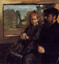 Henri Rouart and His Daughter Helene 1871 1872 PC