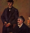 Henri Rouart and His Son Alexis circa 1895 1898 Neue Pinakothek Munich Germany