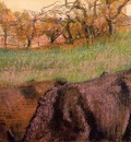 Landscape  Cows in the Foreground 1890 1893 PC