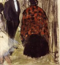 Ludovic Halevy Speaking with Madame Cardinal circa 1876 1877 PC